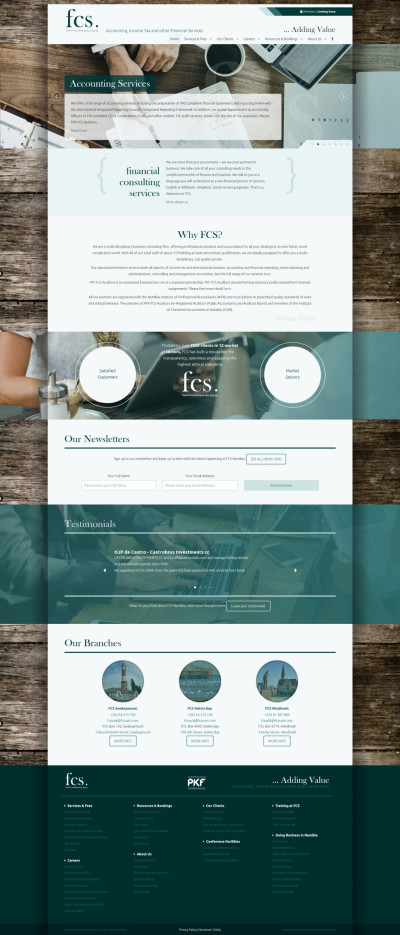 FCS - Home Page